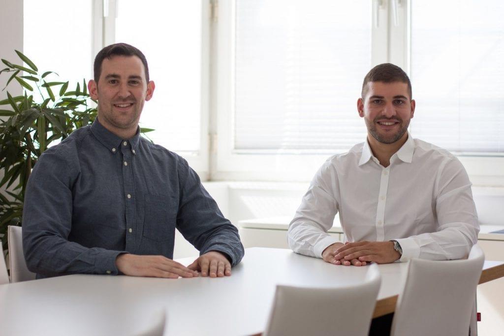 Die Gründer von Salesteq Antonio Vitolo und Alexander Giannitsis